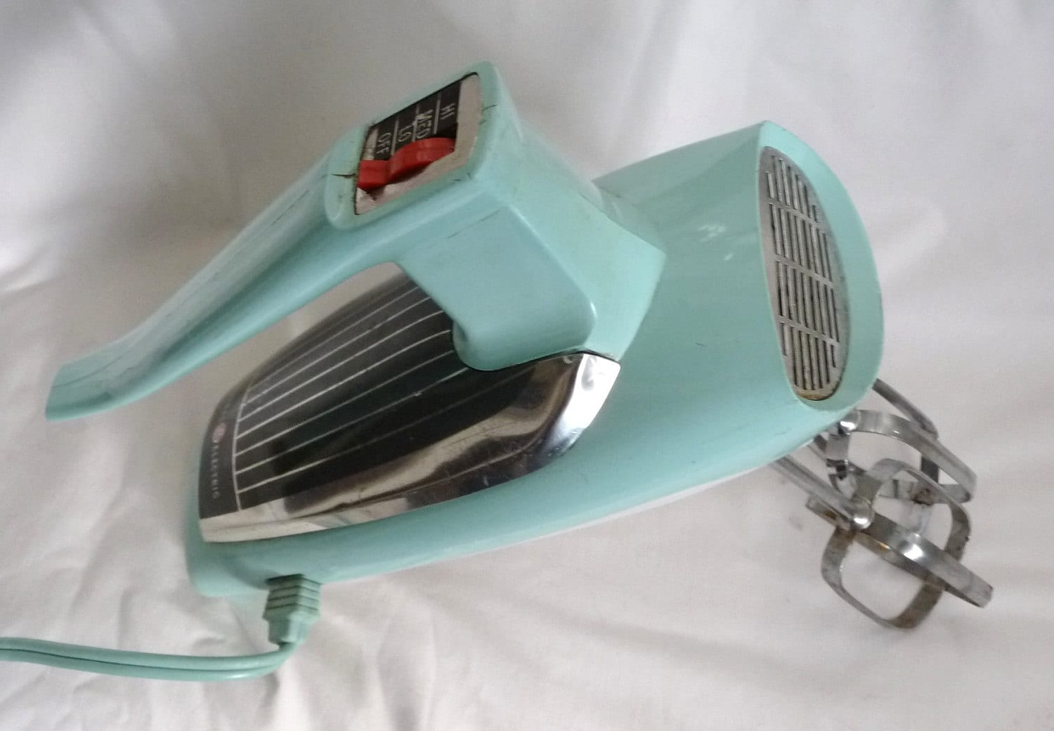 vintage general electric hand mixer atomic