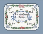 Mom and Dad's Family Tree Personalized Gift Keepsake Remembrance Plus 3 More