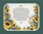 NEW!! Mom's Personalized Gifts Keepsake and Remembrance