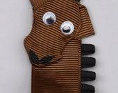 horse hair clip
