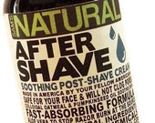 After Shave That Works - Shaving Gifts for Men Aftershave, Soothing Post Shave Cream, Shaving, Shave Cream
