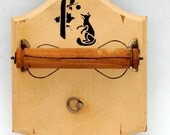 Thorens Music Box / Toilet Paper Holder 1940s