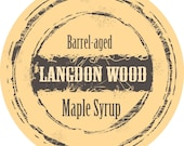 SIX  Bottles of Barrel Aged Maple Syrup