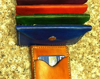 Customized MODERN WALLET- Coin Purse with Debit Card Pocket- Made Just for You.