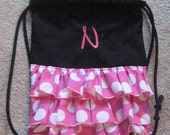 Ms. Mouse drawstring backpack- toddler
