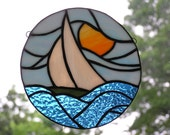 Sailboat panel/suncatcher