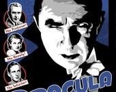Dracula Original Poster Illustration