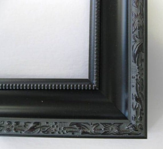 2 inch moulding of Polystyrene,nearwood in Black Ornate