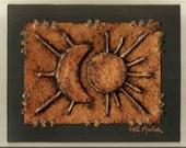 Moon and Sun bronze 8x10