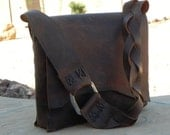 Large Handmade Leather Tote
