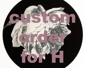 retrofit rose - custom order for H