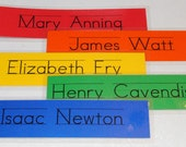 set of 14  Personalized Name Bookmark