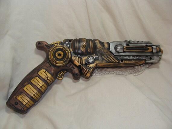 Steampunk Gun Blade Victorian Neo-victorian Cyberpunk Pirate