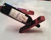 Free Shipping- Sense of Balance Single Wine Bottle Holder