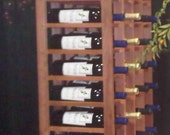 10- Self Standing Wine Racks/44 bottle
