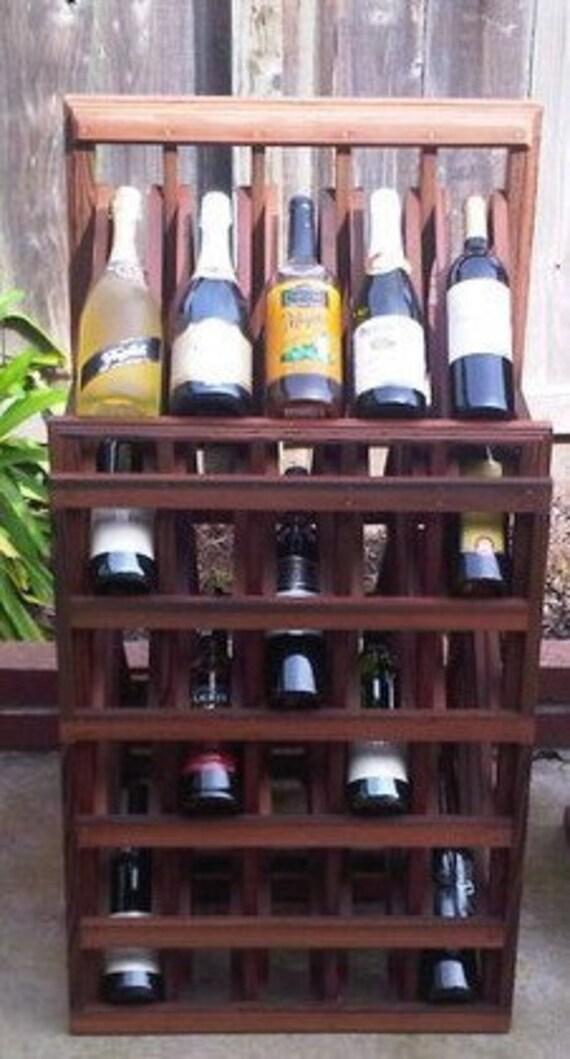 Wine Display Rack  (Large Cathedral Rack)