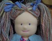 Doll, Waldorf Inspired (16 inches) Free Shipping (Canada and US only)