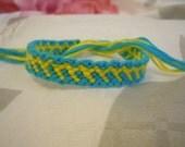 Slanted Seven Friendship Bracelet (Two Color)