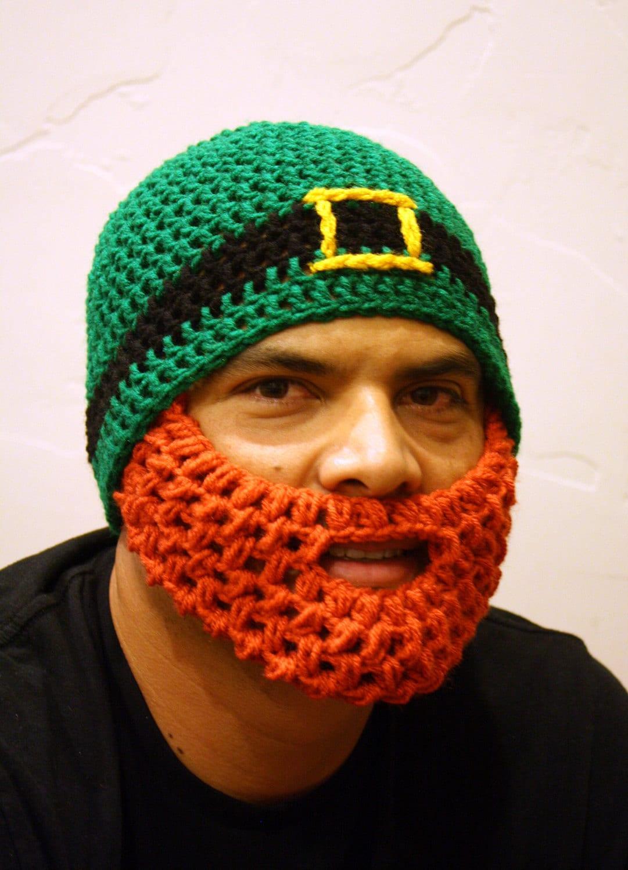 Adult Irish Beard Beanie