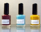 Serenity : Custom-blended Nail Polish Trio