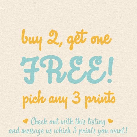 Buy 2 get 1 free any feb10 design art prints 100th celebration sale
