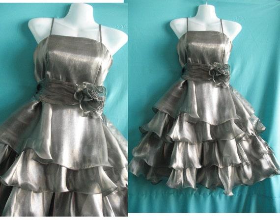 Sexy Gray Cocktail Dress - Sweet Heart Party Dress - Romance Night Short Dress Birthday Gifts