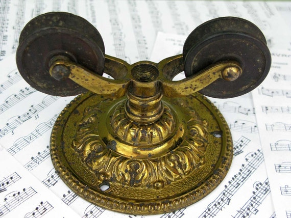 brass pulley - french ricoco
