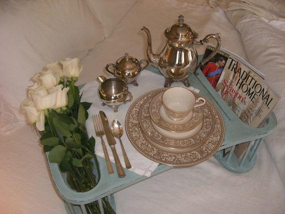 Ready To Ship---Romantic Breakfast-in-Bed Tray