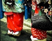 Geta Life - 8x8Photograph of Traditional Japanese Dress and Shoes