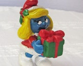 Christmas Smurfette