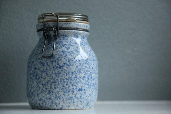 Ceramic Enamelware Graniteware Jar