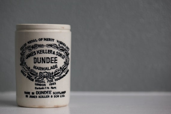 Ceramic Dundee Marmalde Jar Made in England