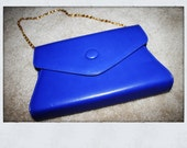 Bellini  vintage envelope clutch with removable chain