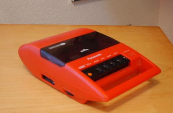 SALE: Panasonic cassette tape player/recorder
