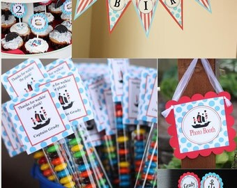 Pirate theme birthday PARTY PACKAGE