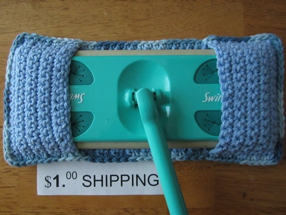 Swiffer Cover / Crochet Swiffer Cover / Cotton Duster
