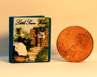 1/12 Miniature book, Little Snow White