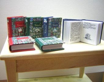Tintenwelt-Trilogie Miniature Books 1:12