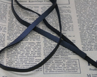 10pcs 7x1mm Black Korean Velvet Cord Faux Suede Cord  Imitation Leather Cord10YARD