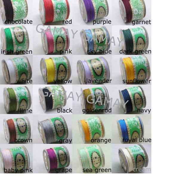1Roll 125m/136YD Optional Chinese Knotting/Beading Silk Cord/Thread 1mm