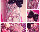 Pink iPhone 4/4s case