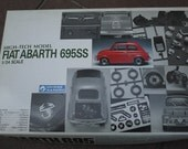 FIAT ABART 69566 authentic vintage model building kit