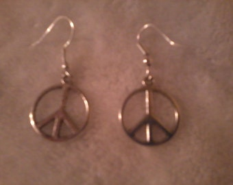 Peace Earrings FREE shipping