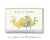 Custom door sign,Personalized nursery sign, baby boy welcom gift, baby room door sign, custom children door plaque, wooden sign, toddler art