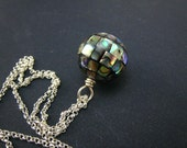 Abalone Ball Beads Pendant