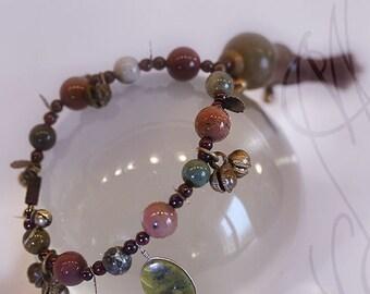 """Handcrafted and dark bracelet  - Bracelet 2 - """"The tinkling of bells"""""""