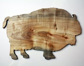 Fat Bison Cutting Board - Sustainable Maple Wood