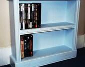 Dvd Storage Shelves Shabby Distressed  Furniture,Display Shelves, Shelf, Game Storage, Video Storage, Video Shelves