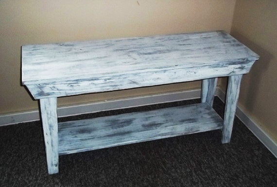 Rustic Table ,Console Table Shabby Rustic Chic  Furniture, , Foyer Table , ,,Sofa Table, Bench, side  table, Mudroom Bench, Coffe Table