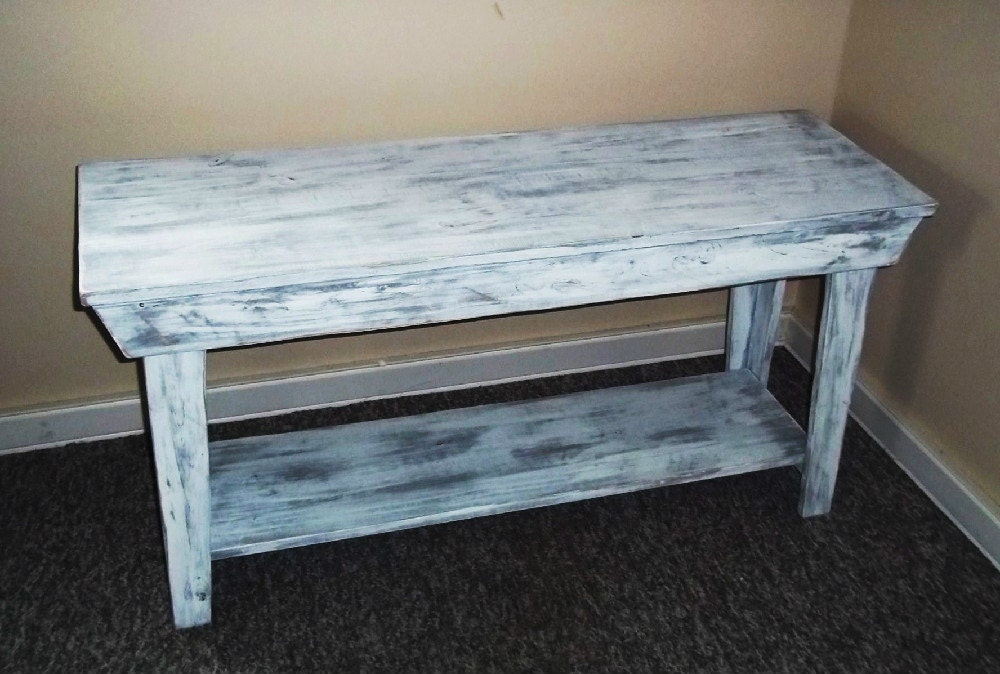 Rustic Foyer Table : Rustic console table entryway shabby chic